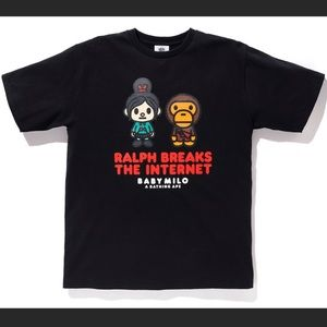 BAPE x Disney Wreck it Ralph Tee